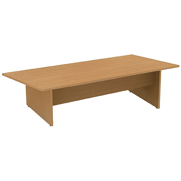 Alpha Plus Rectangular Panel End Boardroom Table