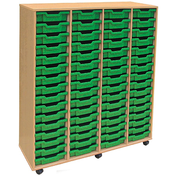 4store 64 Tray Shallow Storage Unit