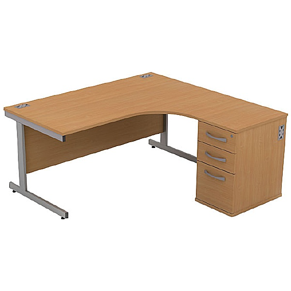 Alpha Plus Ergonomic Combination Desk