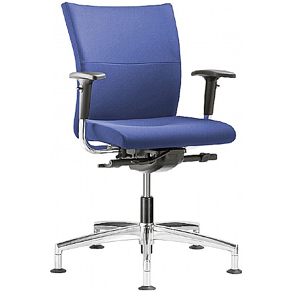 Grammer Office Extra Fabric Medium Back Swivel Conference Chair