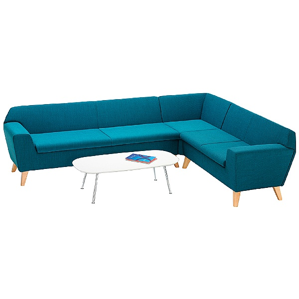 Stretch Set With Dishy Long Tube Coffee Table