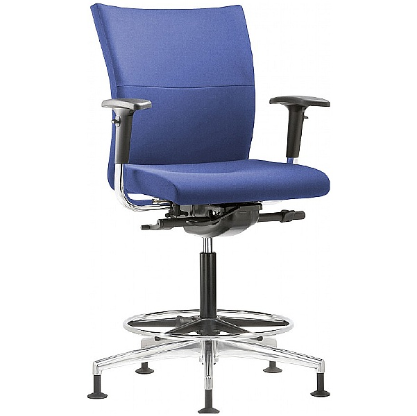 Grammer Office Extra Fabric Medium Back Ring Base Chair