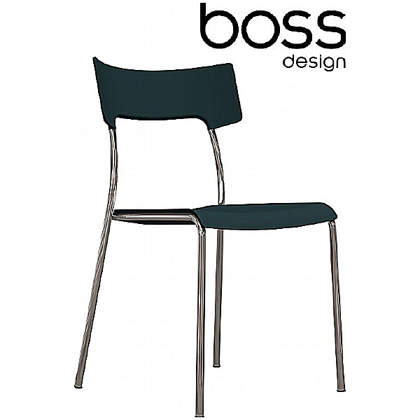 Boss Design Zandi Café Chairs Dark Grey