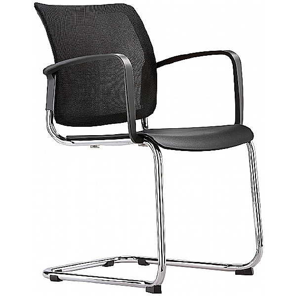 Grammer Office Passu Mesh Back Cantilever Side Chair