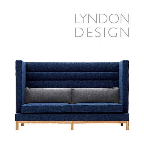Lyndon Design Arthur High Back Compact Sofa
