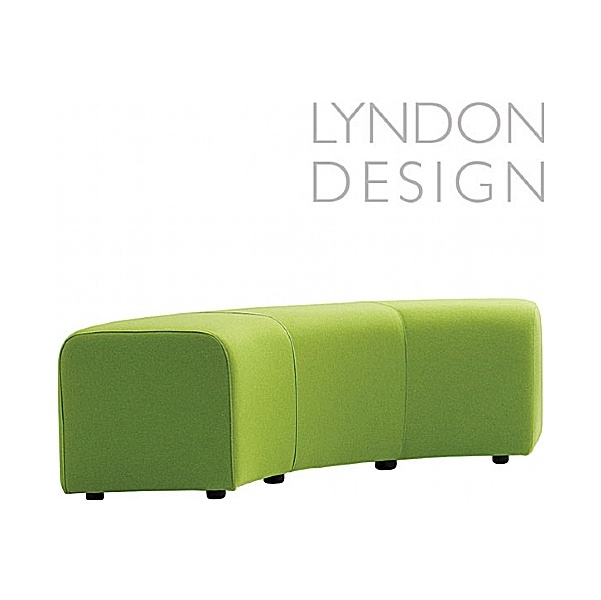 Lyndon Design Teal Curved Stool