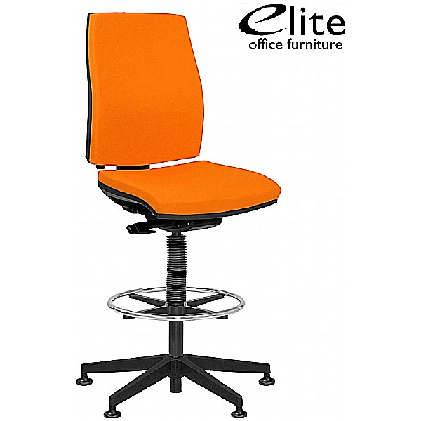 Elite Match Upholstered Draughtsman Chair