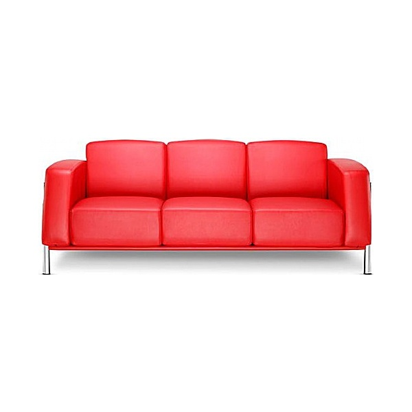 BN Classic Luxury Leather 3-Seater Sofa