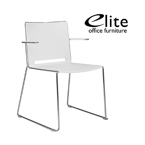 Elite Vice Versa Stacking Chair With Arms