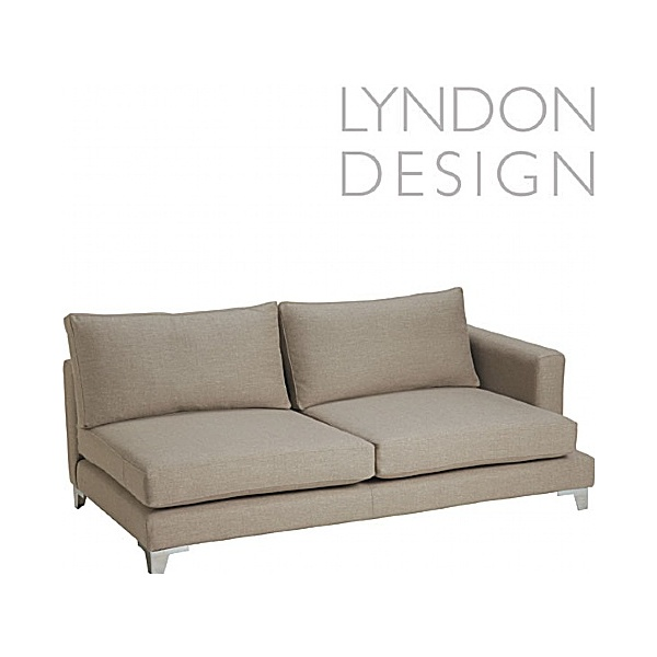 Lyndon Design Olivia Large Single Arm Sofa