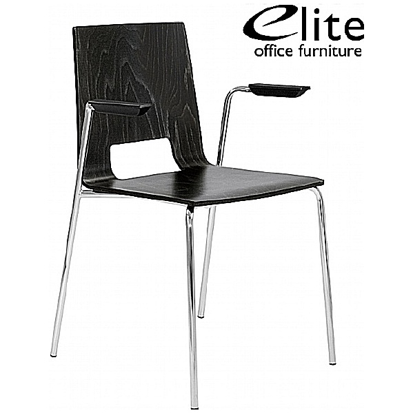 Elite Multiply Open Back Breakout Chair With Arms