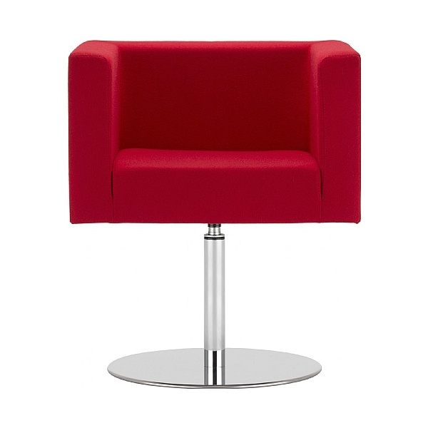 BN Dallas Fabric Disc Base Reception Chair