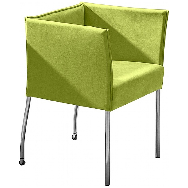 BN Cubic Fabric Reception Chair