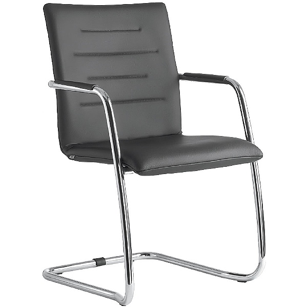 Tango Leather Cantilever Conference Chair