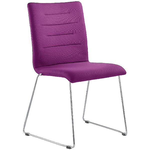 Tango Fabric Skid Base Conference Chair