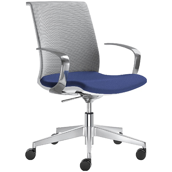 Omega Fabric & Mesh Premium Task Chair