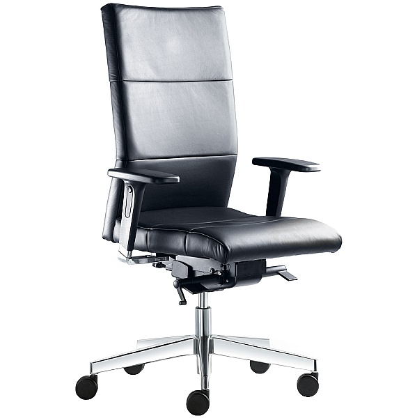 Laser Leather Operator Chair