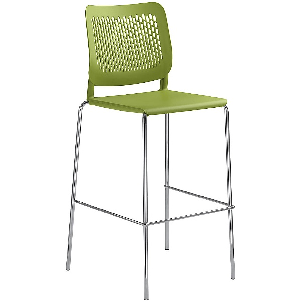Time Plastic Tall Bistro/Bar Stools