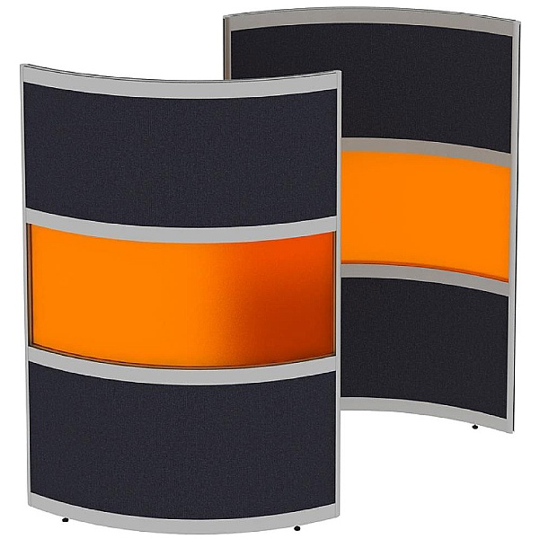 Elite Huddle Pod Curved Screen With Acrylic Middle