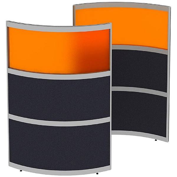 Elite Huddle Pod Curved Screen With Acrylic Top Pa