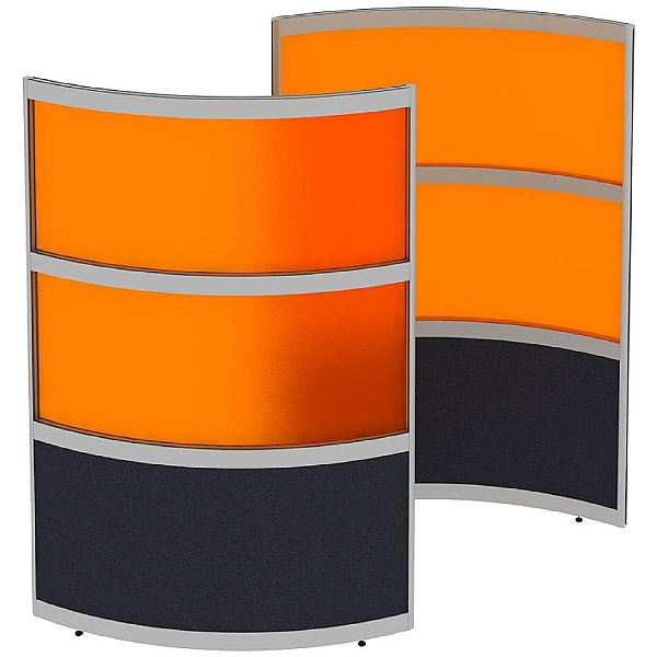 Elite Huddle Pod Curved Screen With Acrylic Panels