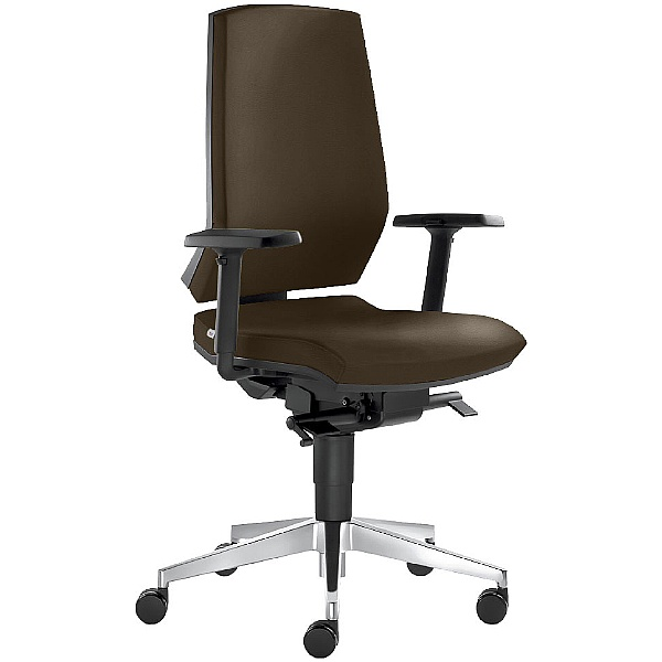Stream Leather Operator Chair
