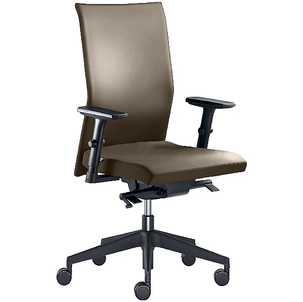 Web Leather Operator Chair