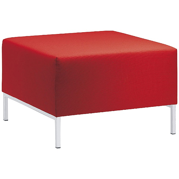 Kubik Fabric Reception Stools