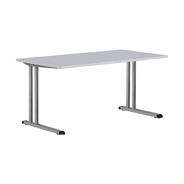 BN Easy Space Height Adjustable Rectangular Cantilever Desks