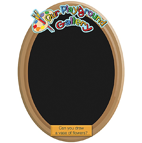 Our Gallery Vase Chalkboard