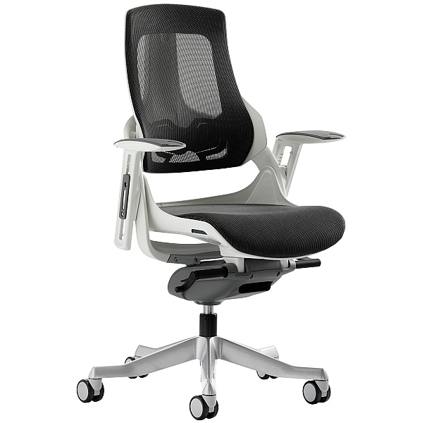 Jett Mesh Operator Chair - Charcoal