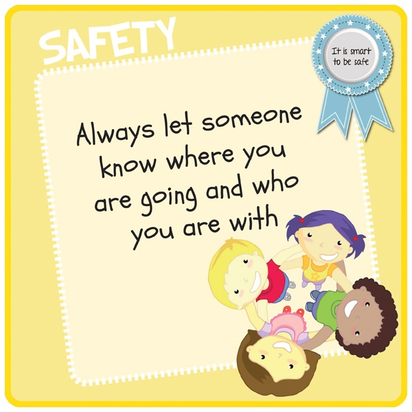 Children's Awareness Safety Sign