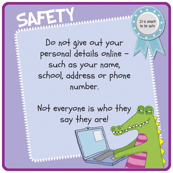 Children's Internet Safety Sign