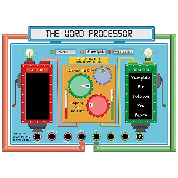 The Word Processor Game