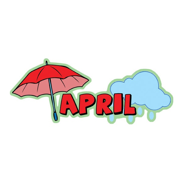Months Of The Year April Signs
