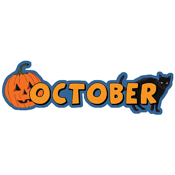Months Of The Year October Signs