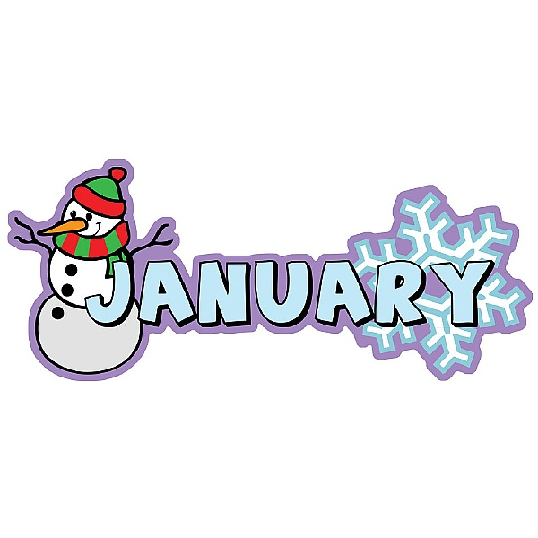 Months Of The Year January Signs