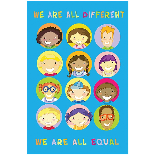 Positive Affirmation We Are All Different