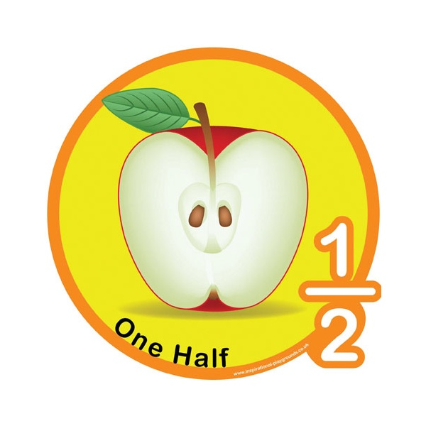 One Half Fraction Sign