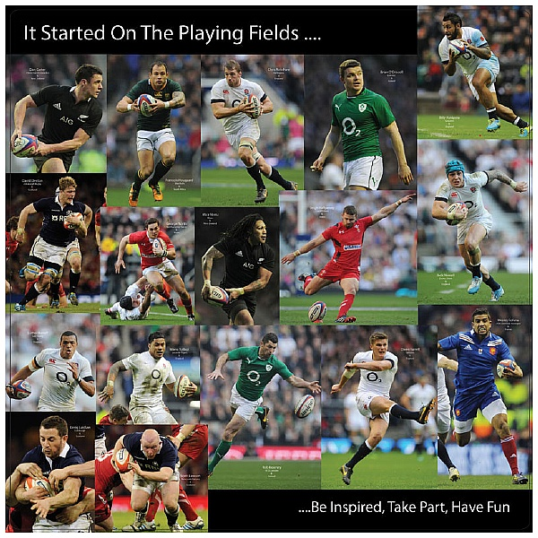 Rugby Sports Stars Sign