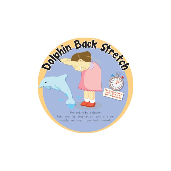 Dolphin Back Stretch Sign