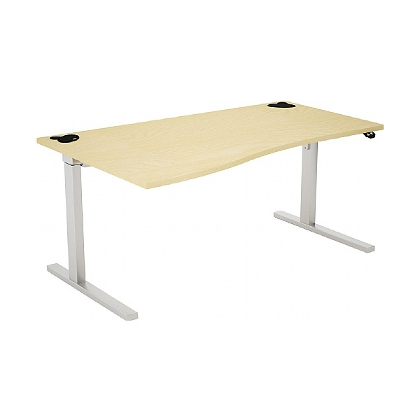 Gresham Rise Height Adjustable Wave Desks