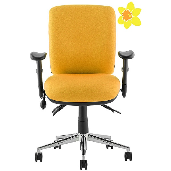 Vital 24Hr Ergonomic Medium Back Chair - Donate to Cancer Charity