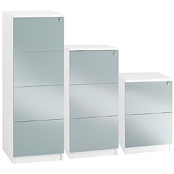 NEXT DAY Fluid High Gloss Filing Cabinets