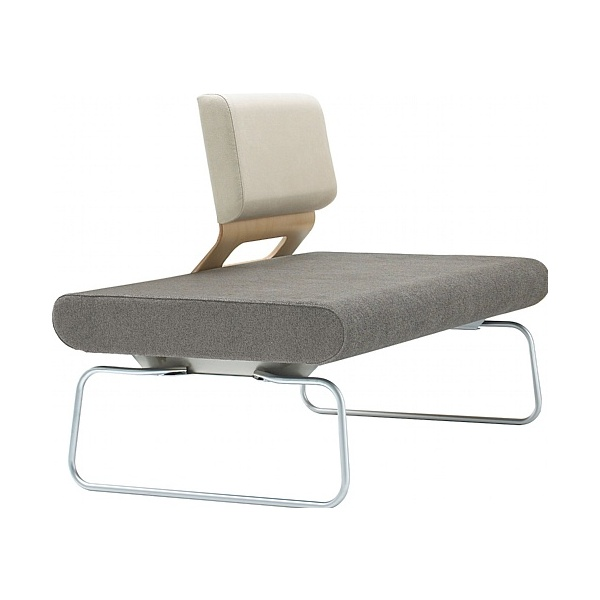 Nomique Infinity Modular 2 Seat Reception Bench With Custom Backrest