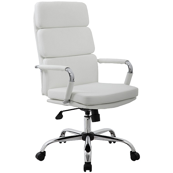 Ava White Executive Office Chairs