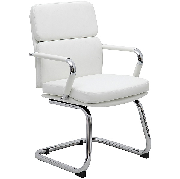 Ava White Executive Visitor Chair