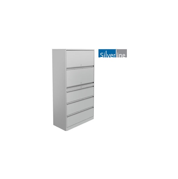 Silverline Combi Store Flipper & Drawers