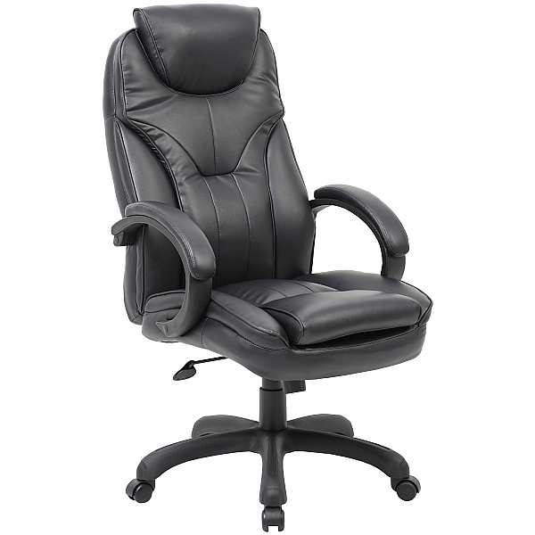 Tuscany High Back Leather Manager Chair