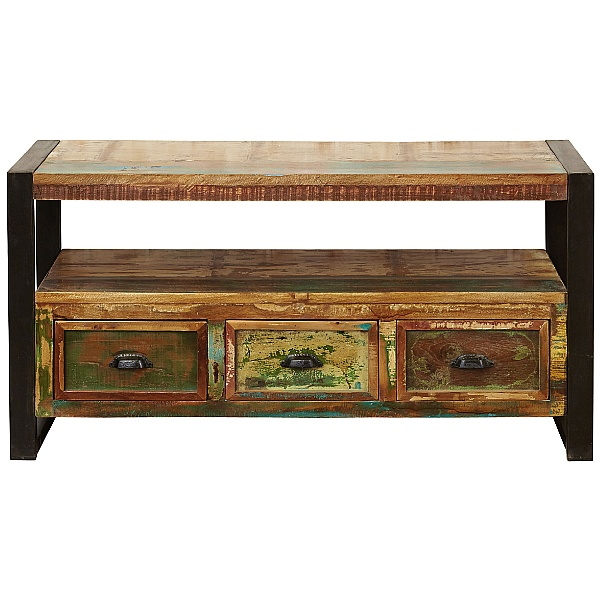Accrington Reclaimed Wood Television Cabinet